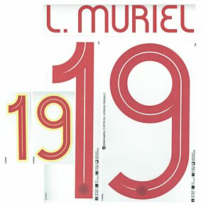 L.Muriel 19 (Official Printing) - 21-22 Colombia Home