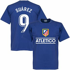 Atletico Suarez 9 Team KIDS T-shirt - Royal Blue