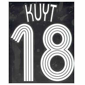 Kuyt 18 - 06-07 Liverpool Home Champions League Official Name & Number