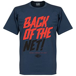 Retake Back of the Net! Tee - Denim Blue