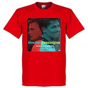 Pennarello LPFC Lineker & Gascoigne Tee - Red