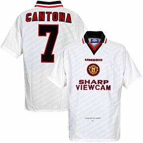 Umbro Manchester United 1996-1998 Away Jersey+ Cantona 7 NEW Condition - Size XL