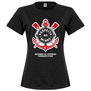 Corinthians Minas Womens Tee - Black