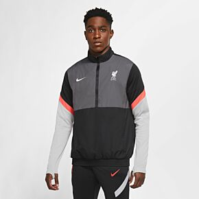 20-21 Liverpool UCL Track Jacket - Black