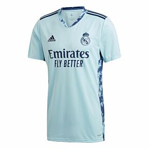 20-21 Real Madrid Home GK Shirt