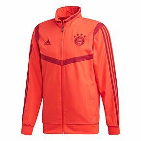 adidas Bayern Munich Pre-Match Jacket - Red