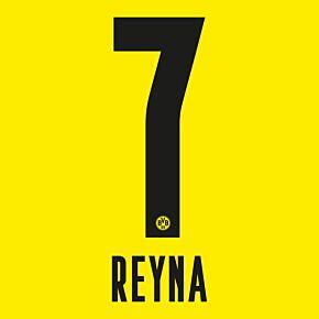 Reyna 7 (Official Printing) 21-22 Borussia Dortmund Home