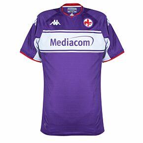 21-22 Fiorentina PRO Authentic Home Shirt - (Slim Fit)