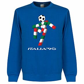 Italia 90 Mascot KIDS Sweatshirt - Royal