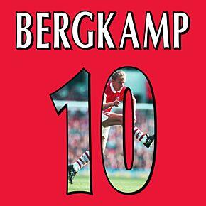 Bergkamp 10 (Gallery Style)