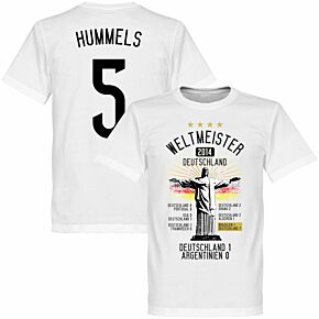 Germany Road To Victory Hummels Tee - White