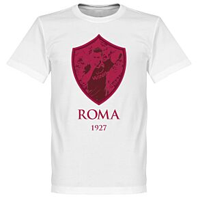 Francesco Totti Roma Gallery Tee - White
