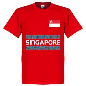 Singapore Team Tee - Red