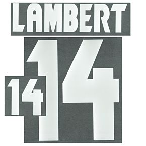 Lambert 14 (Retro Flock Printing)