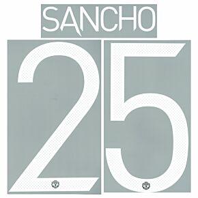 Sancho 25 (Cup Printing) - 21-22 Man Utd Home
