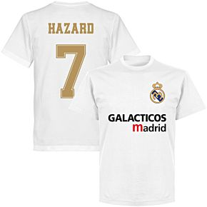 Galácticos Madrid Hazard 7 Team T-shirt - White