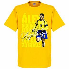 Aguinaga Legend Tee - Yellow