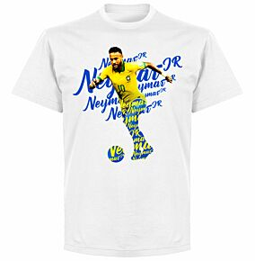 Neymar Script KIDS T-shirt - White