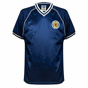 1982 Scotland Home Retro Shirt