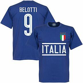 Italy Belotti Team Tee - Royal