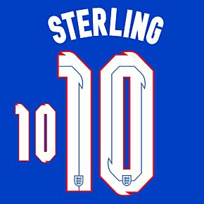 Sterling 10 (Official Printing) - 20-21 England Away