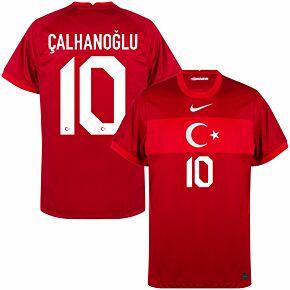 20-21 Turkey Away Shirt + Çalhanoğlu 10 (Official Printing)