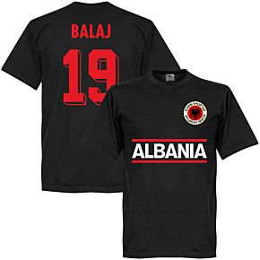 Albania Balaj 19 Team Tee - Black