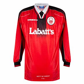 Umbro Nottingham Forest 1996-1997 Home Shirt L/S - NEW Condition (Excellent) - Size XL - PLAYER ISSUE *READY TO PUBLISH*