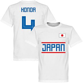 Japan Honda 4 Team Tee - White