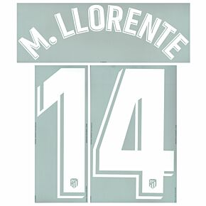 M.Llorente 14 (Official Printing) - 20-21 Atletico Madrid Home