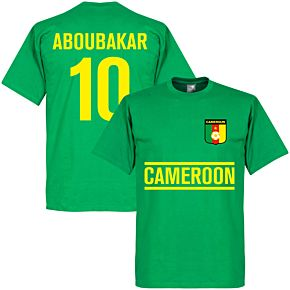 Cameroon Aboubakar Team Tee - Green