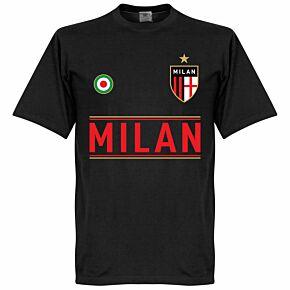 AC Milan Team Tee - Black