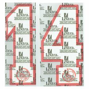 96-97 Ajax Home Loose Numbers - White/Red