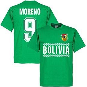 Bolivia Team Moreno Tee - Green