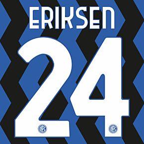 Eriksen 24 - 20-21 Inter Milan Home Official Printing
