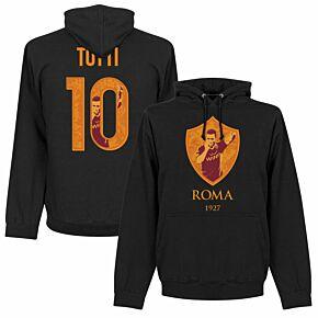 Roma Totti 10 Gallery KIDS Hoodie - Black