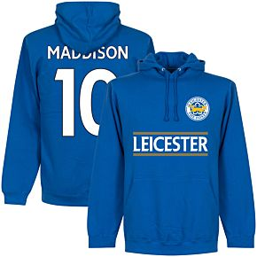 Leicester Maddison 10 Team Hoodie - Royal