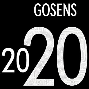 Gosens 20 (Official Printing) - 20-21 Germany Away
