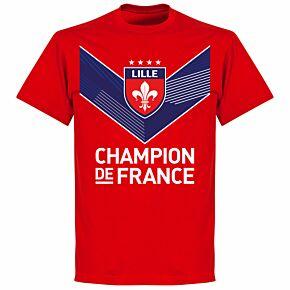Lille Champion de France T-shirt - Red