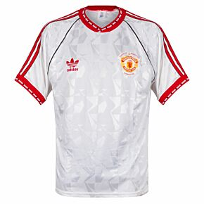 adidas Manchester United 1991 Away Shirt - Used Condition (Good) - EUROPEAN CUP WINNERS CUP WINNERS 1991 - Size M