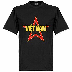 Vietnam Star Tee - Black