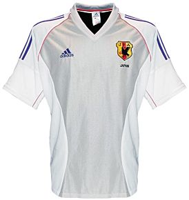 adidas Japan 2002-2003 Away Jersey - NEW Condition - Size Large