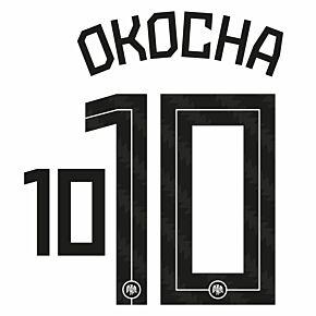 Okocha 10 (Official Printing) - 20-21 Nigeria Home