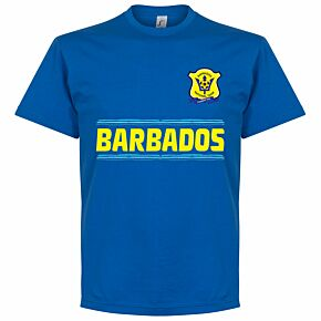 Barbados Team Tee - Royal