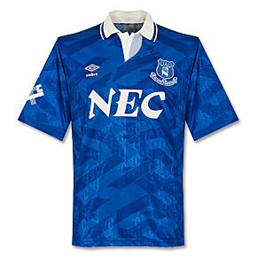 Umbro Everton 1991-1992 Home Jersey - USED Condition (Good) - Size XL