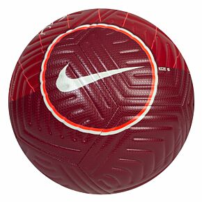 21-22 Liverpool Strike Football - Red - (Size 5)
