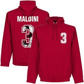 Maldini 3 Gallery Hoodie - Red