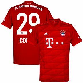 19-20 Bayern Munich Home Shirt + Coman 29