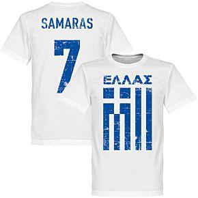 Greece Samaras Tee - White