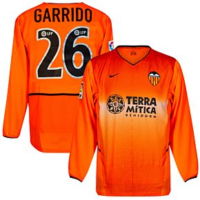 Nike Valencia CF 2002-2003 Away Jersey L/S - NEW Condition (w/tags) - Player Issue - GARRIDO #26